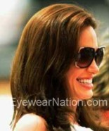 Angelina Jolie wearing the Michael Kors MKS523 sunglasses