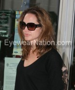 Angelina Jolie wearing the Michael Kors MKS526 sunglasses
