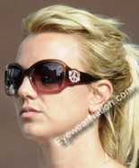 Britney Spears wearing the Juicy Couture BFF Strass