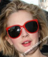 Drew Barrymore in the 'Cats 1000' Ray-Ban