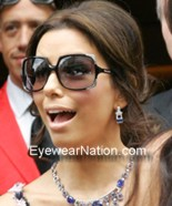 Eva Longoria wearing Michael Kors MKS523 sunglasses