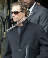Matthew McConaughey in the Ray-Ban RB4075