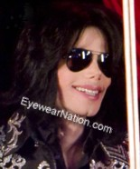 Michael Jackson in Ray-Ban Aviators