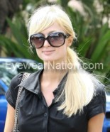Paris Hilton wearing the Christian Dior Glossy 1/S sunglasses