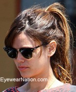 Rachel Bilson in the Ray-Ban Clubmaster